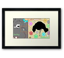 that winning smile or ok you win i give up let's just forget it - exit wounds Framed Print