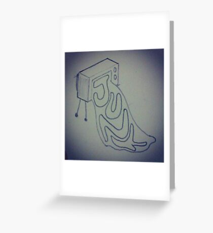 What's on TV? Greeting Card