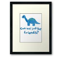 Illustration - Dinosaur 1 Framed Print