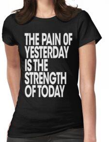 Pain of Yesterday - Dark Womens Fitted T-Shirt
