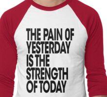 Pain of Yesterday - Light Men's Baseball ¾ T-Shirt