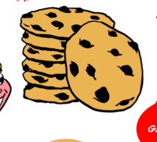 Ted's Cookies Sticker