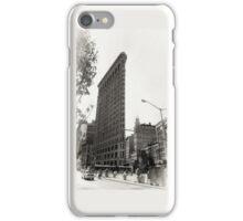 New York, white iPhone Case/Skin