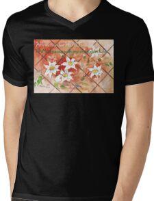Affirmation for PEACE 2 Mens V-Neck T-Shirt