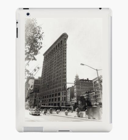 New York, white iPad Case/Skin
