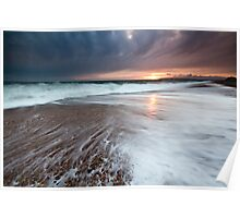 Seaford Sunset Poster