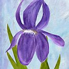 Purple Iris by Nan Engen