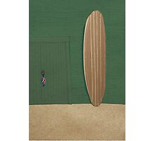 surfboard illustration Photographic Print