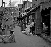 A Street Scene by Upamanyu Sarkar