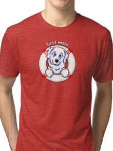 Great Pyrenees :: First Mate Tri-blend T-Shirt