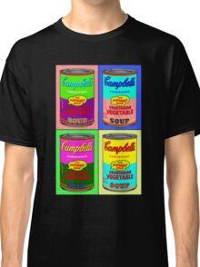 Vegetarian Campbell's Warhol Tribute Classic T-Shirt