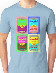 Vegetarian Campbell's Warhol Tribute Unisex T-Shirt