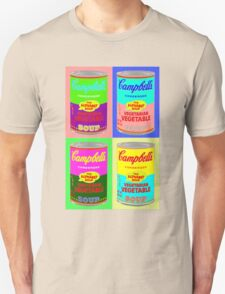 Vegetarian Campbell's Warhol Tribute T-Shirt
