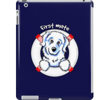 Great Pyrenees :: First Mate iPad Case/Skin