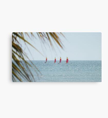 Yachts ... Canvas Print
