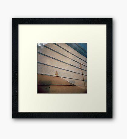 boards Framed Print