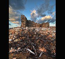 Isla Mujeres Mayan Ruins by Dan  Wampler