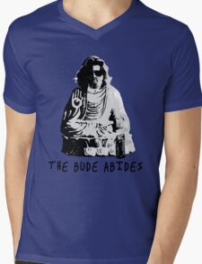 The Bude Abides Mens V-Neck T-Shirt