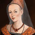 Elizabeth Woodville by marksatchwillart