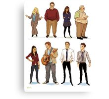 Parks and Rec 1 Canvas Print