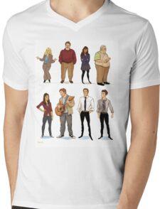 Parks and Rec 1 Mens V-Neck T-Shirt