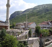 Old town of Mostar by soulpacifica
