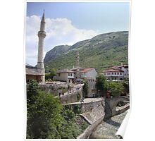 Old town of Mostar Poster