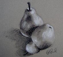 Pair of Pears by Barb Paul