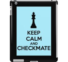 Keep Calm And Checkmate iPad Case/Skin