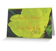 Banner - FHC - Top Ten Winner Greeting Card