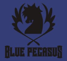 Blue Pegasus Guild Tee by lazerwolfx