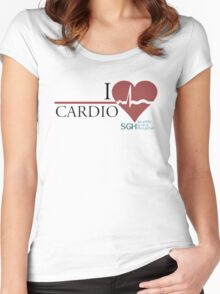 Grey's Cardio Women's Fitted Scoop T-Shirt