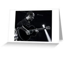 Dave Matthews Band Greeting Card