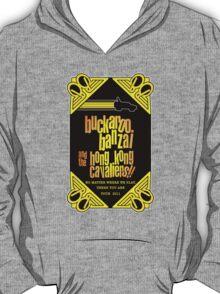 Buckaroo Banzai 2011 Tour - Yellow Version 2 T-Shirt