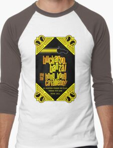 Buckaroo Banzai 2011 Tour - Yellow Version 2 Men's Baseball ¾ T-Shirt