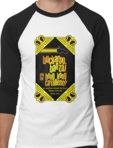 Buckaroo Banzai 2011 Tour - Yellow Version 2 Men's Baseball ¾ T-Shirt