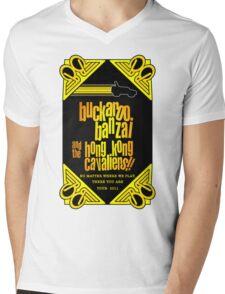 Buckaroo Banzai 2011 Tour - Yellow Version 2 Mens V-Neck T-Shirt