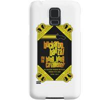 Buckaroo Banzai 2011 Tour - Yellow Version 2 Samsung Galaxy Case/Skin