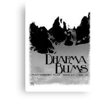 dharma bums - matterhorn peak Canvas Print