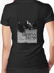 dharma bums - matterhorn peak Women's Fitted V-Neck T-Shirt