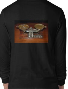 Vintage Eastman Kodak Weigh Scale Long Sleeve T-Shirt