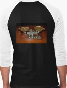 Vintage Eastman Kodak Weigh Scale Men's Baseball ¾ T-Shirt