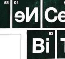"Aaron Paul designed ""Science Bitch"" for ""Breaking Bad"" Sticker"
