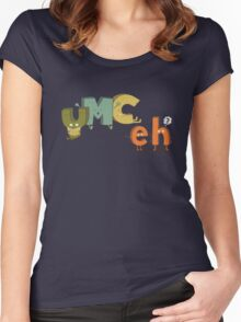 YMC eh? Women's Fitted Scoop T-Shirt