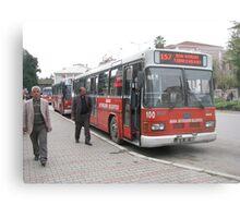The bus in Adana Metal Print