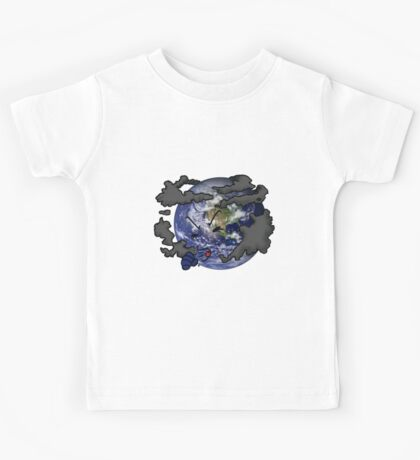 Stop Pollution Kids Tee