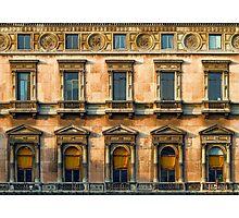 Rows of windows Photographic Print