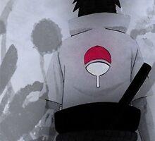 Sasuke Uchiha - - iPhone Case by squidkid
