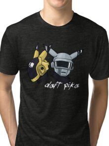 Daft Punk - Pikachu version (color) Tri-blend T-Shirt