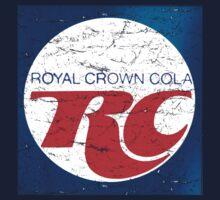 Vintage RC Cola design by J. Stoneking
